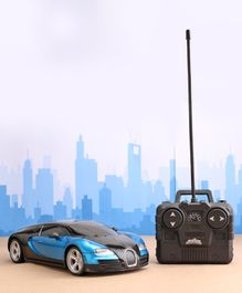 Mitashi Dash Street Masters Remote Control Car - Blue Black