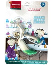Morisons Baby Dreams Baby Nail Clipper With Magnifier Green