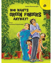 Katha Who Wants Green Fingers Anyway Story Book - English
