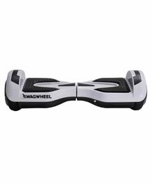 Swagwheels Pro 5 Hoverboard with Bluetooth Speaker - Grey Black