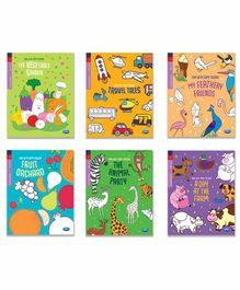 Navneet Copy Colour Books Pack of 6 - English
