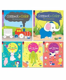 Navneet Connect & Colour Books Pack of 5 - English