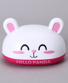 Bunny Design Soap Case - White