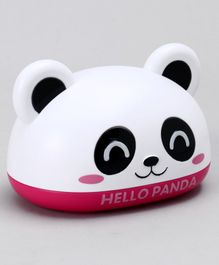 Panda Design Soap Case - White