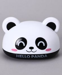 Panda Face Soap Box - Black White