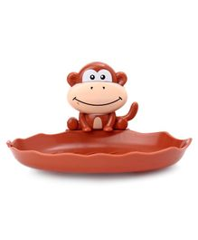 Monkey Face Soap Holder  - Dark Brown