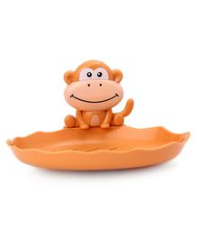 Monkey Face Soap Holder  - Brown