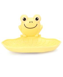 Frog Face Soap Holder - Yellow
