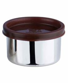 Falcon Steel Nano Container With Brown Lid - 100 ml