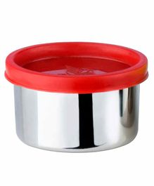 Falcon Steel Nano Container With Red Lid - 100 ml