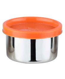 Falcon Steel Nano Container With Orange Lid - 100 ml