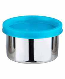 Falcon Steel Nano Container With Firozi Lid - 100 ml