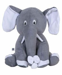 Deals India Elephant Soft Toy Grey - Height 22 cm