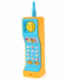 Emob Musical Mobile Phone Toy with Light & Music - (Color May Vary)
