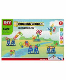 Crackles Stem Nuts & Bolts Engineering Building Blocks Multicolor - 56 Pieces