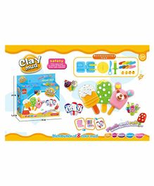 Crackles Make Your Own Ice Creams & Popsicles Play Dough Set - Multicolour