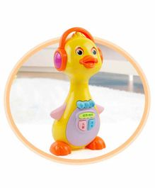 Crackles Happy Quacking Duckling wit Lights & Sound (Color May Vary)