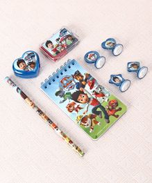 Paw Patrol Stationery Set Blue Red - 8 Pieces