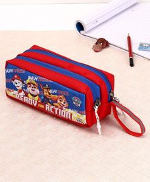 Paw Patrol Pencil Pouch - Red Blue