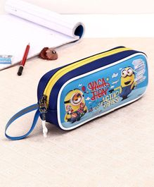 Minions Pencil Pouch - Blue