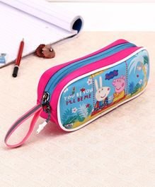Peppa Pig Pencil Pouch - Blue Pink
