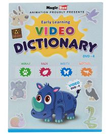 Magicbox Preschool Video Dictionary DVD Part 4 - English