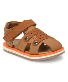 Tuskey Hollow Up Sandals - Brown