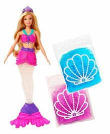 Barbie Dreamtopia Mermaid Doll with Accessories Pink - Height 28 cm