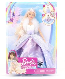 Barbie Dreamtopia Doll with Sparkling Dress Purple - Height 30 cm
