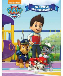 Paw Patrol My Bumper Copy Colouring Book - English