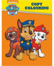 Paw Patrol Copy Colouring Book - English