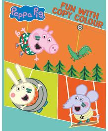 Peppa Pig: Fun With Copy Colouring Book - English