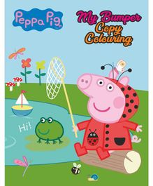 Peppa Pig: My Bumper Copy Colouring Book - English