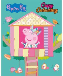 Peppa Pig Copy Colouring Book - English