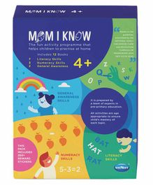 Navneet Mom I Know Learning Books Pack of 12 - English