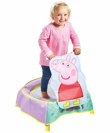 Pace Peppa Pig Trampoline - Blue Purple