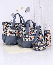 Diaper Bag Grey - Set of 5