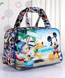 Disney Mickey Mouse And Friends Duffle Hand Bag - Multicolour