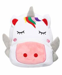 The Mom Store Unicorn Baby Bag White - 10.4 Inches