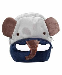 The Mom Store Elephant Shaped Baby Bag Grey - 10 Inches