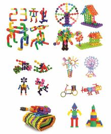 Skylofts Building Block Kits Pack of 12 - Multicolor