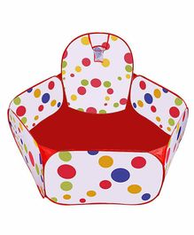 Skylofts Hexagon Play Balls Pit House - White Red