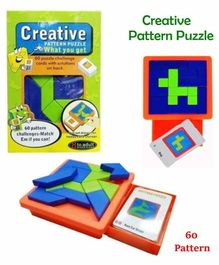 Creative Pattern Puzzle - Multicolour