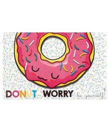 Arditex Zaska Dining Table Place Mat Donuts Design Pack of 4 - Multicolor