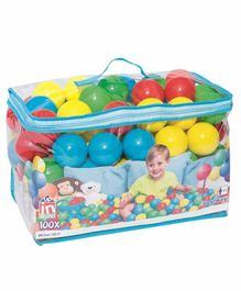 Bestway Colorful Bouncing Balls - 100 Pieces
