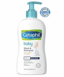 Cetaphil Baby Wash And Shampoo - 399 ml