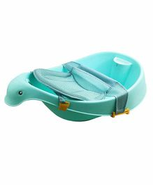 Nee & Wee 3 Stage Baby Bath Tub with Sling - Green