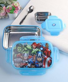 Marvel Insulated Lunch Box Blue