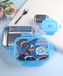 Marvel Caption America Insulated Lunch Box - Blue