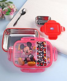 Disney Mickey Mouse and Friends Lunch Box Red